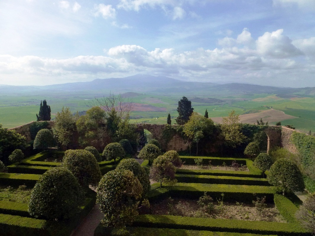 Giardino Pensile Pienza : Pienza italy tuscany what to do visit tourism cheese