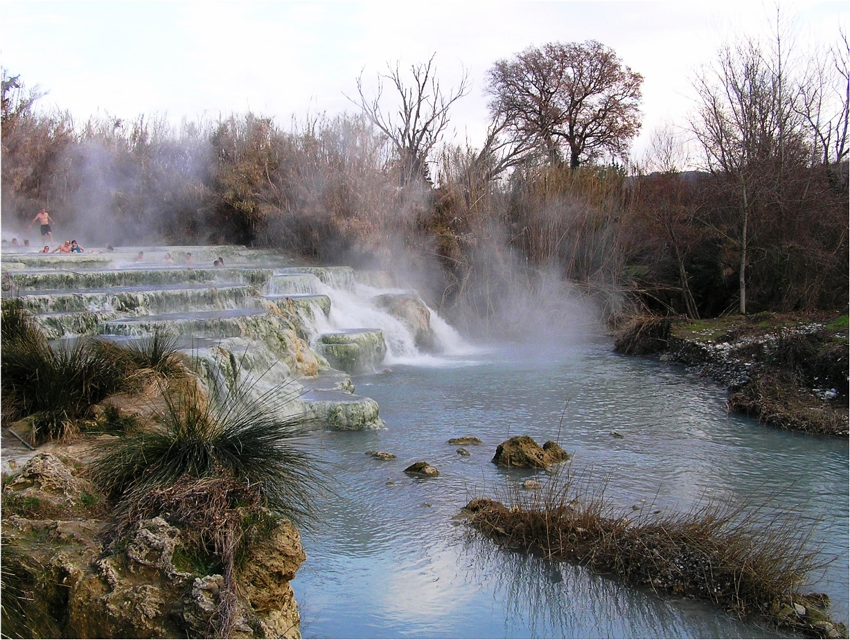 San Quirico d\'Orcia | Bagno Vgnoni Thermal Baths | Orcia Valley